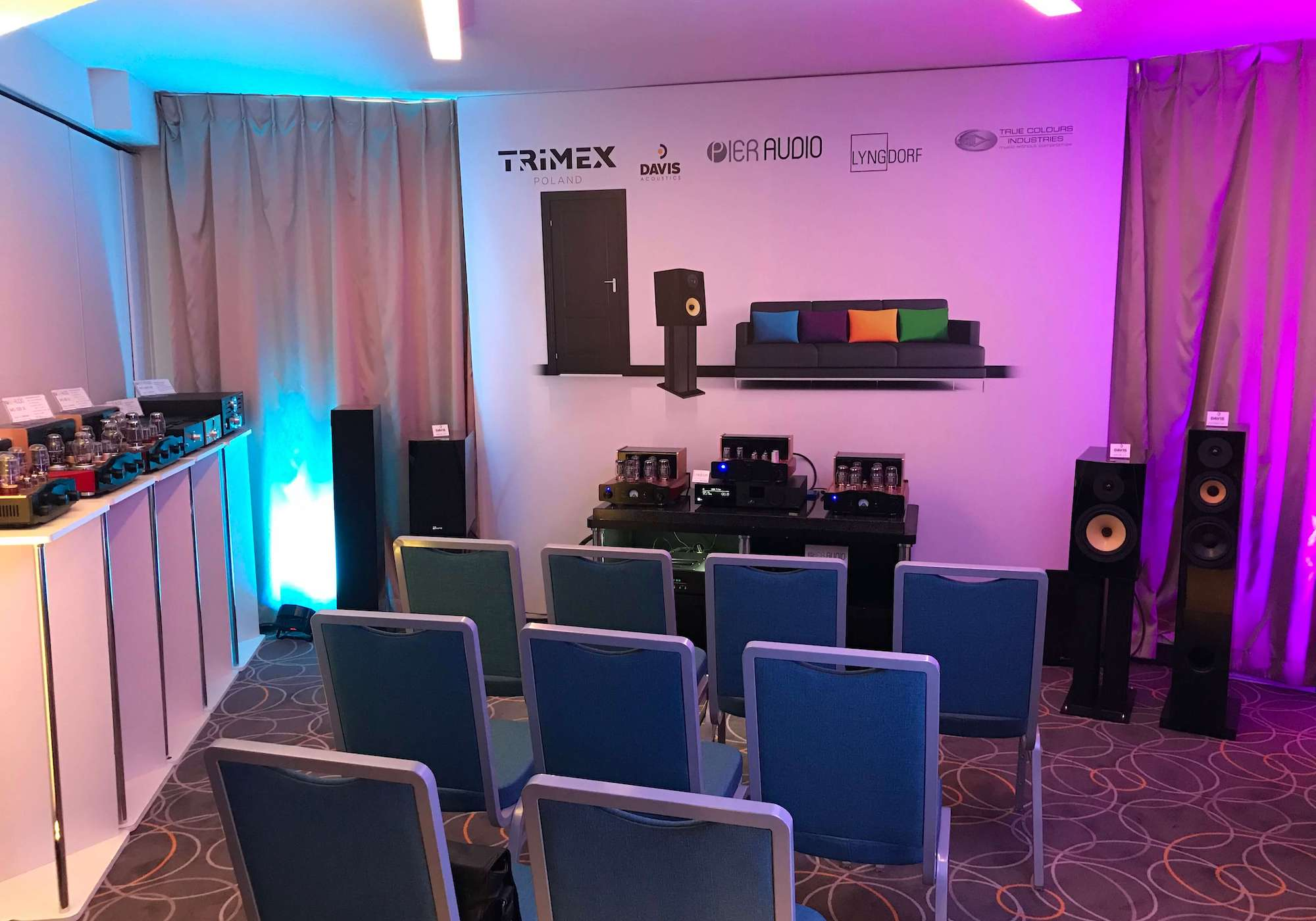 Davis Acoustics na Audio Video Show 2019